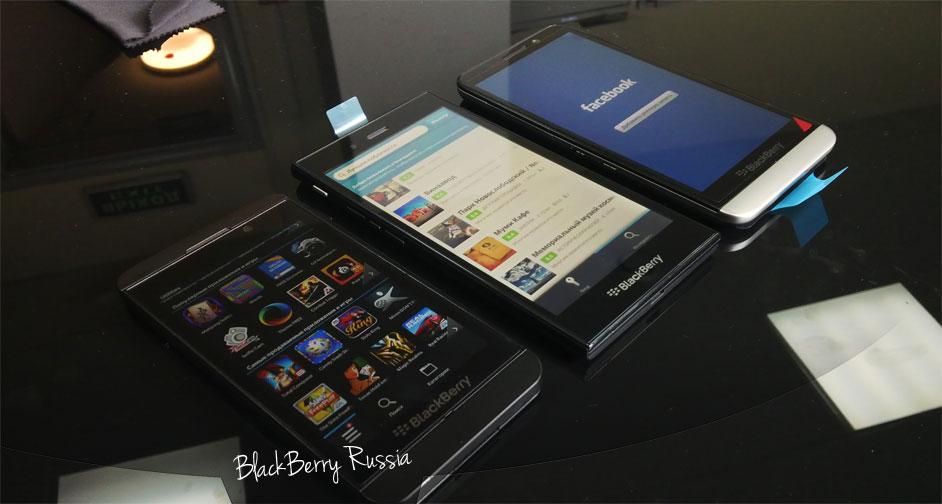 Сравнение дисплеев BlackBerry Z10, Z30 и Z3