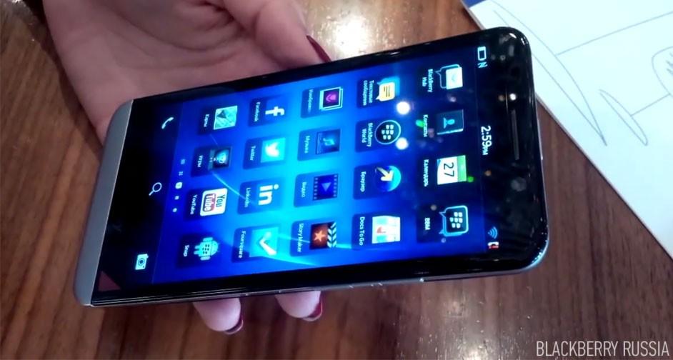 Видео обзор BlackBerry Z30