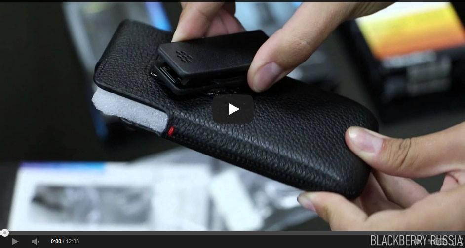 Обзор аксессуаров BlackBerry Z10