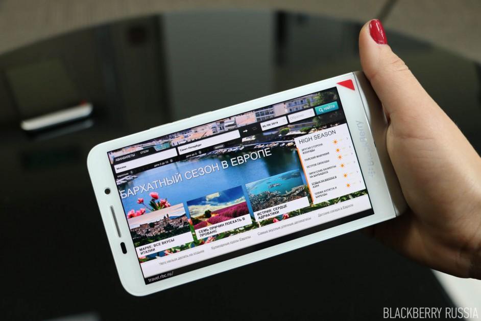 Фото-обзор BlackBerry Z30