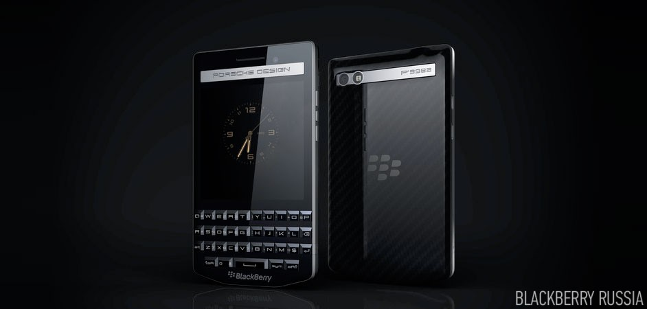 BlackBerry Porsche Design P'9983 характеристики и фото