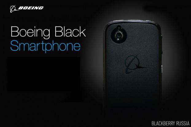 BlackBerry и Boeing выпускают самоуничтожающийся смартфон Black