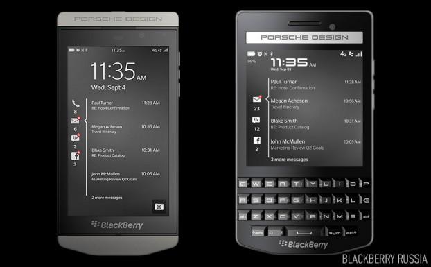 Сравнение характеристик BlackBerry Porsche Design 9982 и 9983