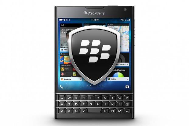 Защита данных BlackBerry