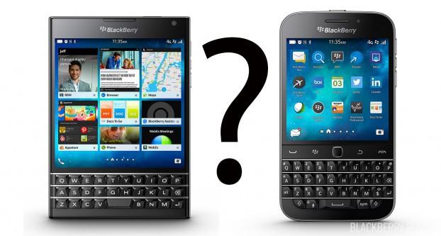 Что выбрать: BlackBerry Passport или BlackBerry Classic?