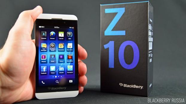 Характеристики BlackBerry Z10