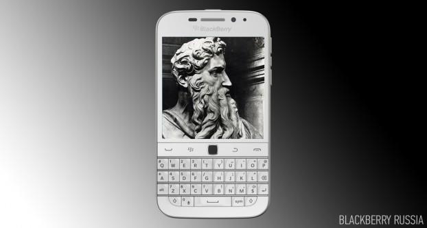 Фото-обзор BlackBerry Classic White