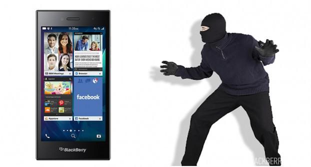 Противоугонная система для BlackBerry