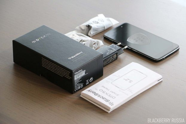 Фото-обзор BlackBerry DTEK50