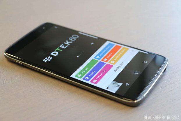 Характеристики и модификации BlackBerry DTEK60