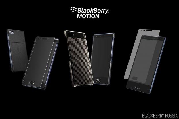 Обзор оригинальных чехлов для BlackBerry Motion