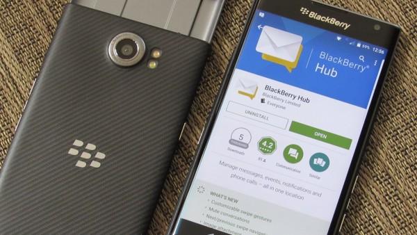 Интеграция приложений в BlackBerry HUB