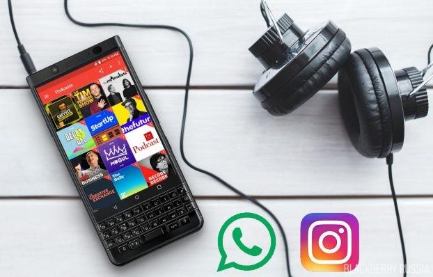 Обновление WhatsApp и Instagram для BlackBerry — групповые видеозвонки
