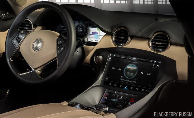 Безопасное развертывание Android в автомобиле с BlackBerry