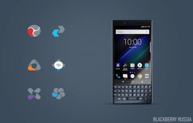 Установка APK приложений BlackBerry, недоступных в Play Market
