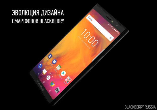 Эволюция дизайна устройств BlackBerry