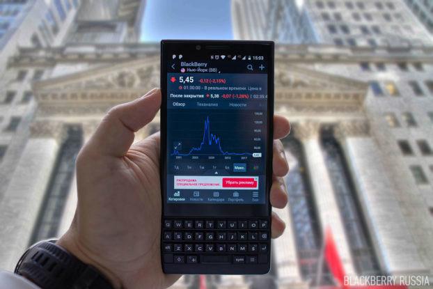 Снижение акций BlackBerry, действия инвесторов и наши ожидания