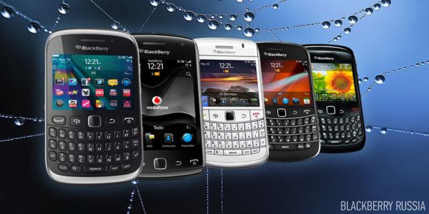 В Китае стали популярны телефоны на BlackBerry OS 7
